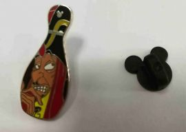 DISNEY 2008 Hidden Mickey Bowling Pin- Villains Jafar