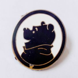 Disney 2009 Hidden Mickey Winnie The Pooh Characters Silhouettes Series Pin-Winnie