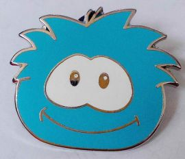 Disney - Enamel Pin Trading badge - 2009 Smiley Face - Bluce