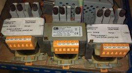 BLOCK 24VDC output TRANSFORMER VDE 0570/EN61558 FA-Nr:808800