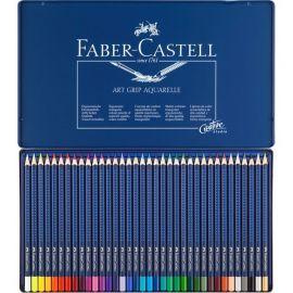 Faber-Castell ART GRIP Aquarelle Pencil In A Metal Tin (36 Pack) 114236