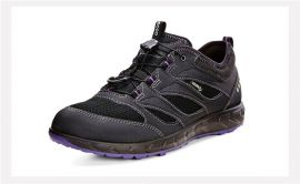 EU36 US5-5.5  ECCO Terratrail Womens  Speedlace Black 803523-51052
