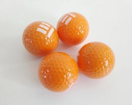 Lot of 5PCS Golf balls Color Orange $0.5/pc