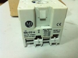 Allen-Bradley 194L-E12-1502 12A 600V ON-OFF SWITCH
