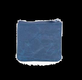 Siwa Japan coin purse  (Black blue) Material:Soft Naoron