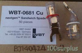 Lot 2 WBT WBT-0681 CU Nextgen Sandwich Spade  1Red+1White $17/pc