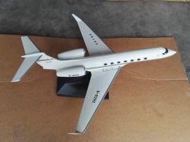 PacMin Gulfstream G550 1/48 Scale Desk Top Display Jet Airplane New