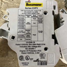 Cooper Bussmann 10x38 Fuse Holder CHPV 1000VDC 30A UL4248-18