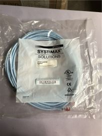 COMMSCOPE SYSTIMAX SOLUTIONS CPC3312-02F025 GigaSPEED XL GS8E Stranded Cordage Modular Patch Cord, Light Blue Jacket 25 FT