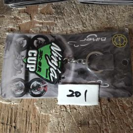 """Ninja ZX-6R"" logo Key Buckle for Motorcycle"
