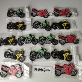 Motorcycle Model Key Buckle red/blue/yellow