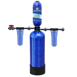 Aquasana EQ-400 Chloramines Whole House Water Filter with Installation Kit