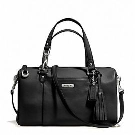 AVERY LEATHER SATCHEL (COACH F26121)