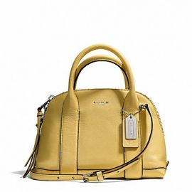 BLEECKER MINI PRESTON SATCHEL IN PEBBLE LEATHER (COACH F30143)