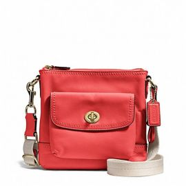 CAMPBELL LEATHER SWINGPACK (COACH F51107)
