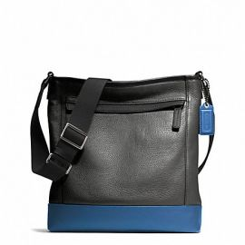 CAMDEN LEATHER TECH CROSSBODY (COACH F70920)