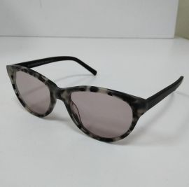 Clive Somers Sydney Sunglasses standard and Progressive lens Black/White Frame with light grey lens