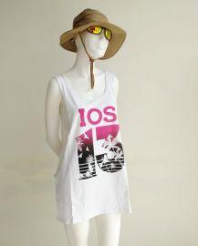 IOS-Greece cultural shirt Sumer Singlet Show Waist T-shirt