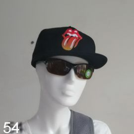 Rolling Stones 'Classic Tongue' Cap - 14 ON FIRE - OFFICIAL 2014 Concert Tour Show souvenir