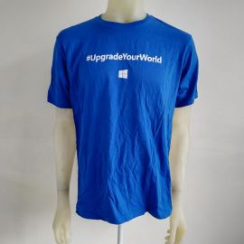 Microsoft Windows 10 T-shirt Advertisement District Made Tee Upgrade your world