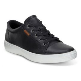 Ecco Soft 7 TEEN Lace Black Sneakers 780013-02001