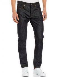 W34 L32 G-Star Raw Men's 3301 Tapered Fit Pant In Brooklyn Denim Raw tapered jeans