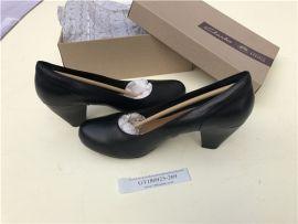EU41  Clarks Coolest Ice Women's Black Leather Shoes 26115569