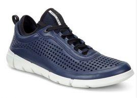EU41 US7-7.5 ECCO Mens Intrinsic Sneaker 860014-01048 TRUE NAVY