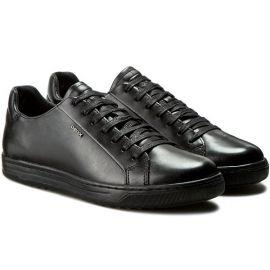 EU40 US7 GEOX U Ricky F Mens Sneakers U64W1F 00043 C9999 Black