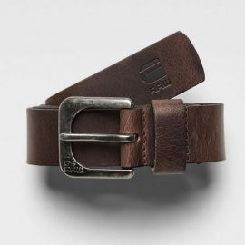 G-Star RAW Zed Dark Brown Belt 89001D-3127-288 SIZE 80 or 100