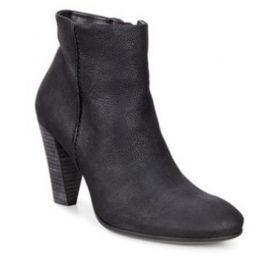 EU37 US6-6.5  Ecco Shape 75 Women's Ankle Boot Black 268583-02001