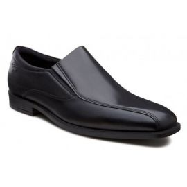 EU41 US7-7.5  ECCO Edinburgh SLIP-ON men's dress loafer black