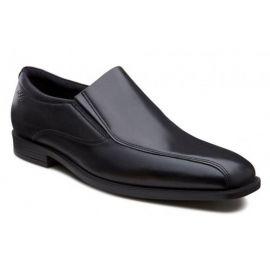EU41 US7-7.5  ECCO Edinburgh SLIP-ON men's dress loafer black