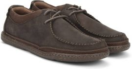 EU41.5   Clarks trapill pace dark brown leather Men Shoes 26114989