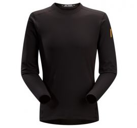 180cm/100A ARCTERYX 11263 Phase SV Crew Men's Long Sleeve Shirt, Szie M Black Color