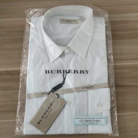 Burberry Mens Modern Fit Cotton Poplin Dress Shirt 3959136 White 16US(41EU)