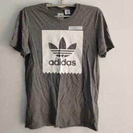 Adidas Originals Backboard Logo Fill T-Shirt Grey M AO0756