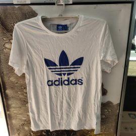 Adidas AJ8349 Women Originals BOYFRIEND Trefoil tee SS shirts white/Blue S