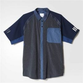 adidas AO0862 White Mountaineering SSL T-Shirt Night Navy M
