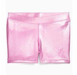 Danskin 4053 Pink Gymnastics Basics Short S