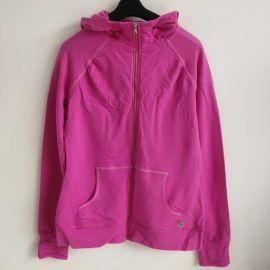 Danskin 4189 Womens Sport Jacket Raspberry S Rose / Purple