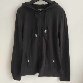 Danskin 4151 Womens Sport Jacket Raspberry S Black