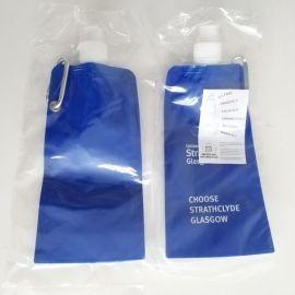 Aqhaskin Foldable Water bottle for University of Strathclyde Glasgow
