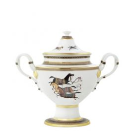 HERMES Cheval d' Orient Compote Dish
