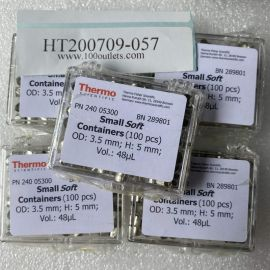 100pcs Thermo 24005300 Tin Capsules Pressed Standard Weight 3.5*5mm