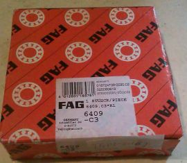 6409-C3 FAG New Single Row Ball Bearing
