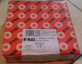 6212-C3 FAG Deep Groove Ball Bearings Open, Shielded and sealed