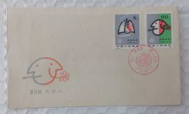 J56 FDC Stop Smoking for Good Health 1980 China Special Stamps