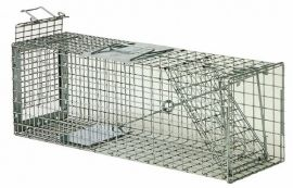 Safeguard Model 52824 Humanie Cage Trap Rear Release for rabbits, skunks, large squirrels