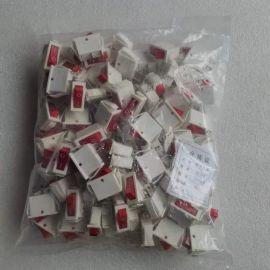 100pcs rocker switch KCD3 white